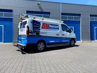 Nieuwe demo-bus A&S Vancare met Sortimo Bedrijfswageninrichting
